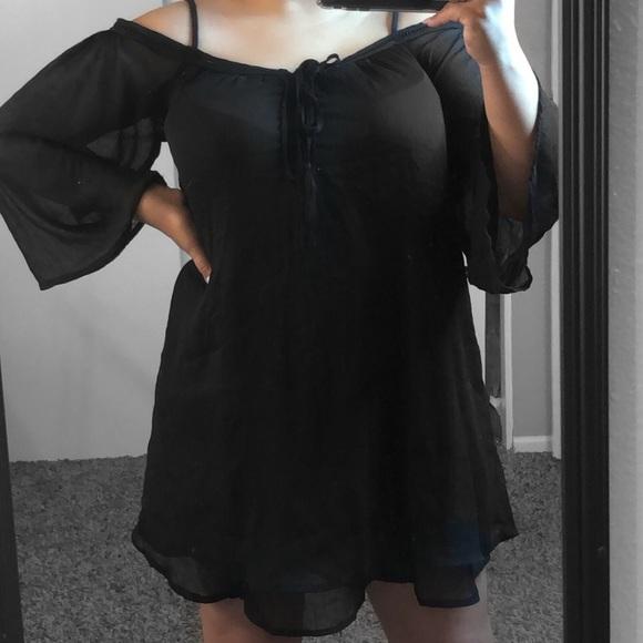 91478fb33d28 Loose Black dress. M 5a6fd2a28df47069b8981a0a
